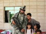Me and kids from Iraq