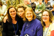 Janet, Pam, Marge, Janna at FFRF Convention 2010