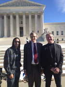 With Rev. Barry Lynn and Rick Wingrove