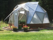 Geodesic Greenhouse L&L Acres
