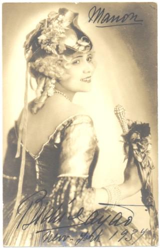 Bidu Sayão, soprano (1902-1999)