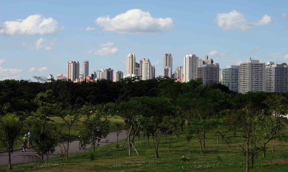 CARTÃO POSTAL Sao Paulo City - Pq Villa-Lobos 2009 web