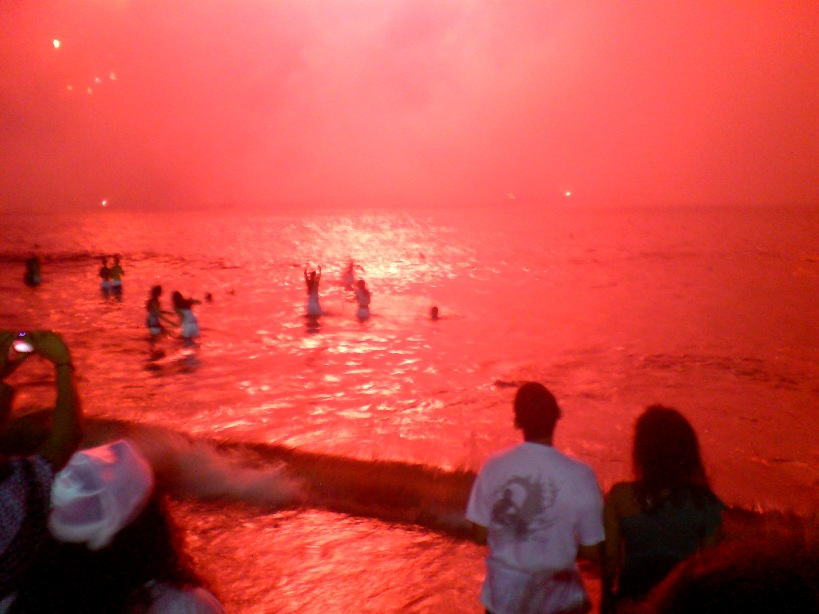 Mar Vermelho no Rio