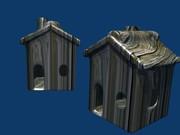 casa de cachorro modelagem no blender