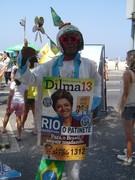 Carioca eleitor de Dilma