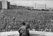 Fidel fala para o povo cubano