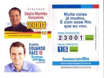 23001 Delcio Marinho Gonçalves VEREADOR PPS RIO