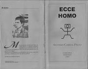 ECCE HOMO - Poesia - Curupira Edições - 1997.