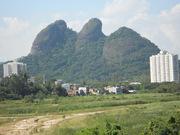 Morro Dois Irmãos, entre o Camorim e a Colônia Juliano Moreira, Jacarepaguá, Rio de Janeiro-RJ