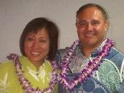 With Colleen Hanabusa at FACE Event