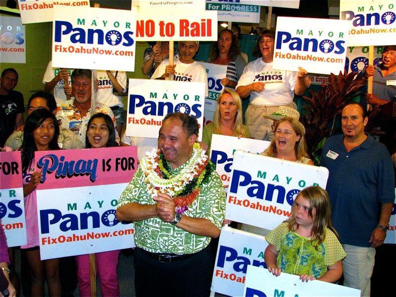 Panos & the Campaign Team
