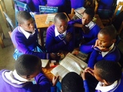 Learning together at Nkoasenga Secondary School, 2016