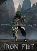 3D Ironfist Warrior Creature Character Animation By GameYan Game Art Outsourcing Studio