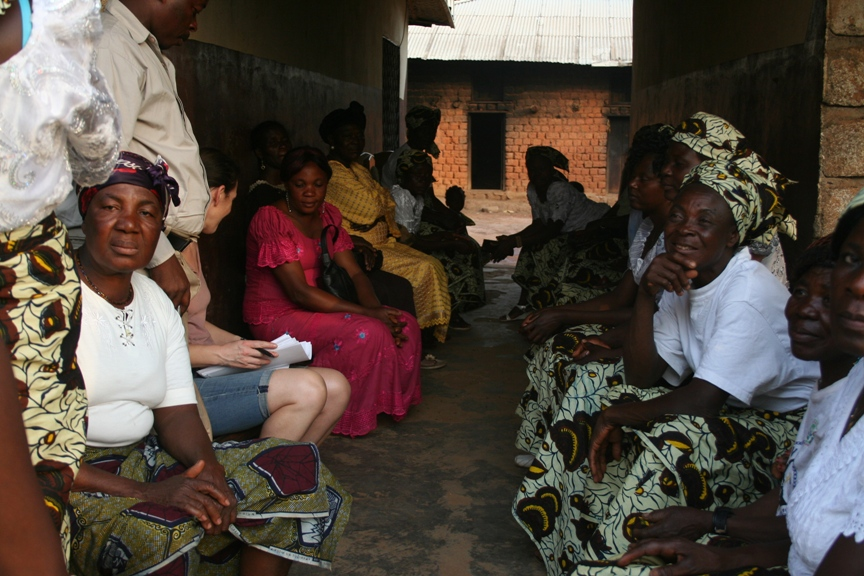 Meeting the Makew Women's group
