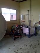 baby corner in the milk house