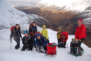 Ring of Steall February 2014