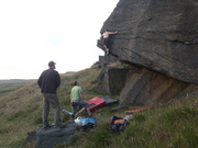 Ivan showing us all how its done at Standedge