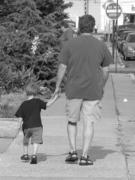JRs walking.
