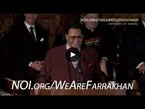 Minister Farrakhan Responds to Facebook Ban at Chicago Rally