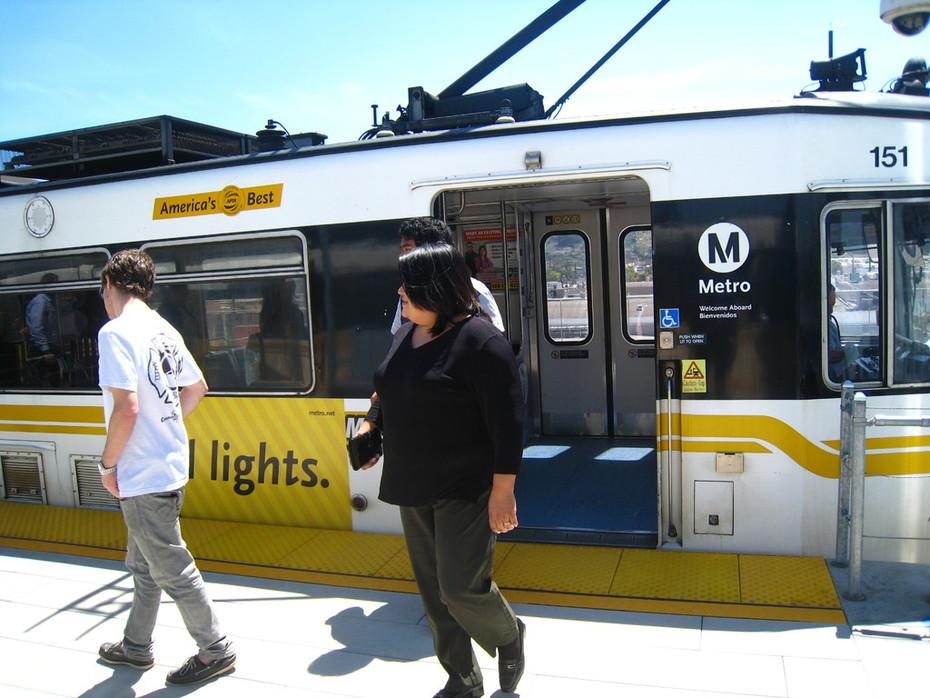 The Expo Line Light Rail