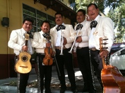 Mariachis at Mercado La Paloma
