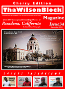 ThaWilsonBlock Magazine Issue34 Cherry Edition