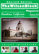 ThaWilsonBlock Magazine Issue34 Emerald Edition