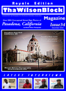 ThaWilsonBlock Magazine Issue34 Royale Edition