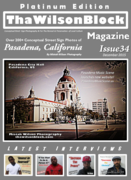 ThaWilsonBlock Magazine Issue34 Platinum Edition