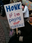 Honk I am paying for your mortgage