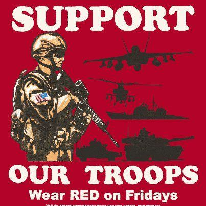 Wear Red on Friday