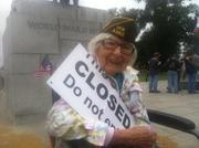 1 Million Vet March - Tear Down Barrycades!