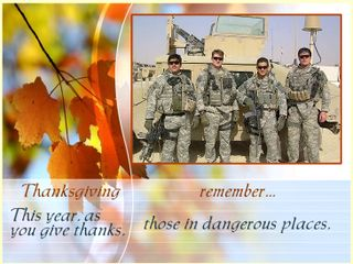 Remember those not home