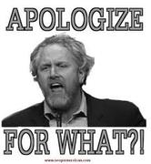 Apologize for What