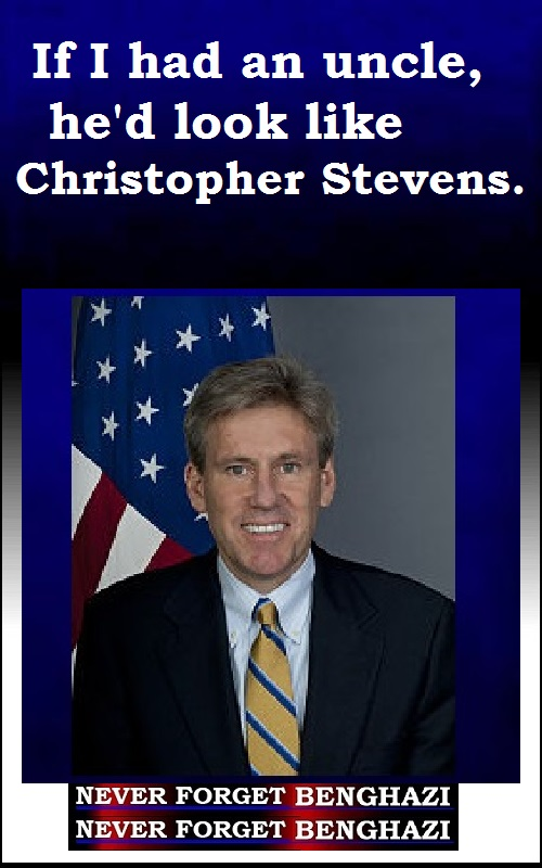 If I Had An Uncle ... Chris Stevens