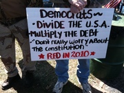 Democrats Divide the USA, Multiply the Debt