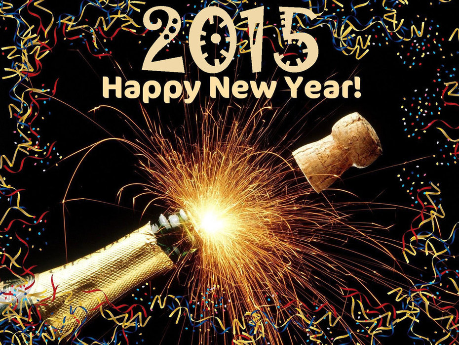 Pop the Cork for 2015