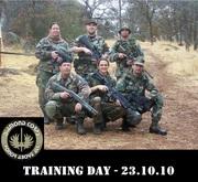 Training Day 10-23-10