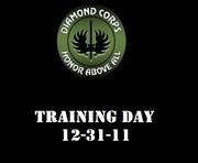 Training Day 12-31-11
