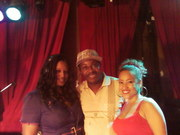 DJ SINCERE DJ FLY GRL  AND CLARISSA SANTIAGO (HOST) AT BACK TO BASICS 7