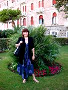 Elisabetta at the Hotel Excelsior - Lido of Venice during the Cinema Festival - Set. 2009