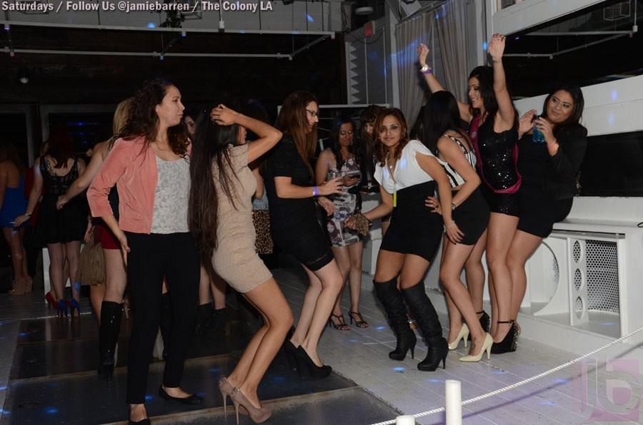 Supermodel Veronica LaVery Birthday at Colony Hollywood