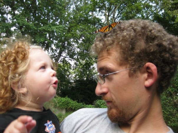 Monarch+ granddaughter + son= wonder