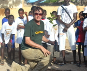 Kids4Trees Planting in Dakar, Senegal with World Olympians Association