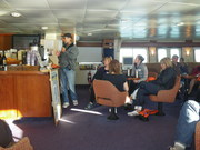 Aboard National Geographic ship