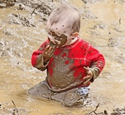 Hmmmm...never tried mud before.