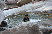 1st Dip in the River