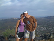 Dave and Stacey at Scottsdale, AZ