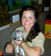 Laure Kate and Potter O. Possum