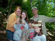Tracking Catherine the Eastern Box Turtle
